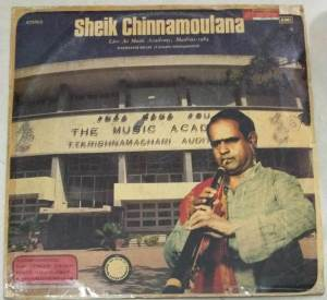 Instrumental Nadhaswaram LP Vinl Record by Sheik Chinnamoulana www.macsendisk.com 1jpg