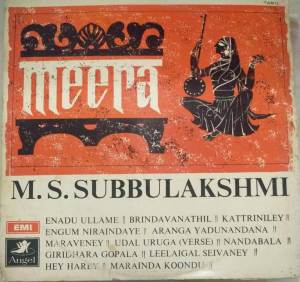 Meera LP VInyl Record by M S Subbulakshmi www.macsendisk.com 1