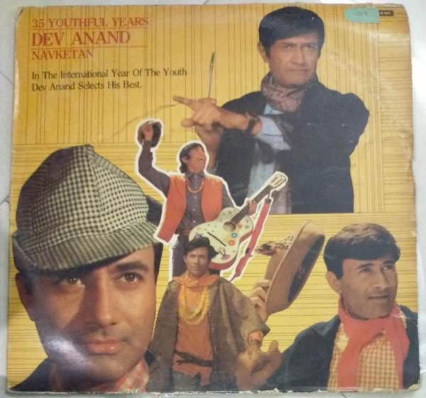 35 Youthful Years Dev Anand Hindi Film Hits LP Vinyl Record www.macsendisk.com 1