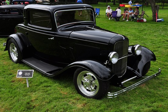 Bruce Wilson 1932 Ford three-window Coupe
