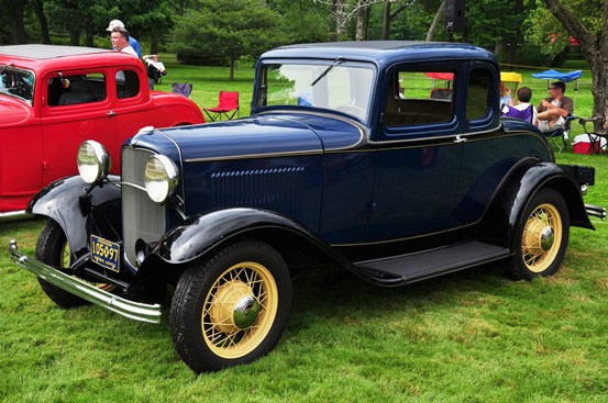 Lynn Stringer 1932 Ford Model B Standard Coupe
