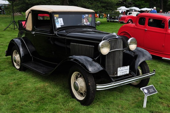 George DeAngelis 1932 Ford Sport Coupe