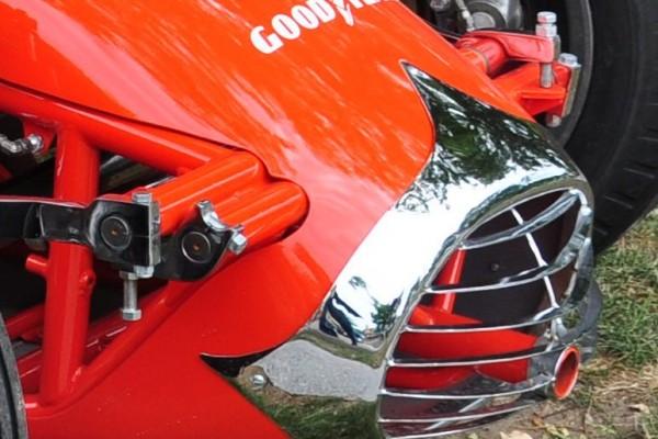 Jerry Nemire Grant King Dirt Champ car suspension detail