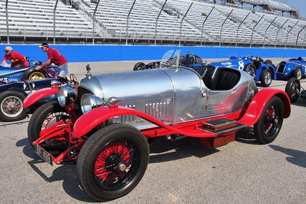 Bill Hoff 1924 Bentley