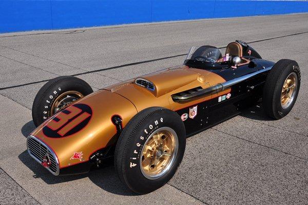 Bob McConnell 1957 Kurtis 500G
