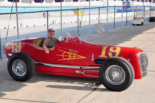 Charles Lawrence 1935 Ford Indy car