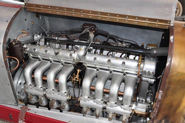 Fred Bohlander 1919 Miller TNT Special engine