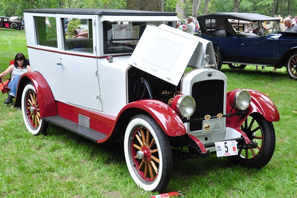Bob and Sharon Piper 1923 Auburn 6-43 Touring Sedan