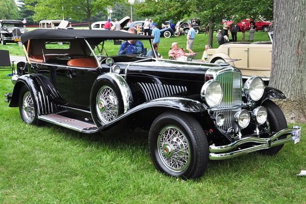Charles Letts 1929 Duesenberg J Dual Cowl Sport Phaeton