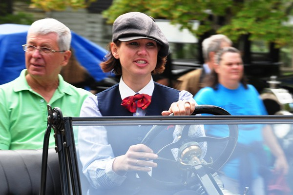 Ford Model T chauffeuse
