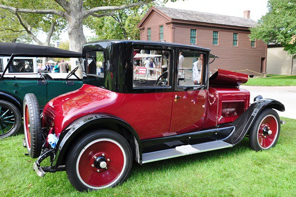 Fred Cleaver 1922 Wills St. Claire A68 four-pass. Coupe