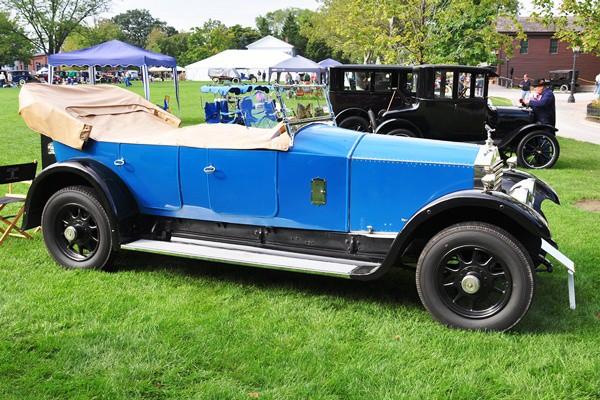 Gary and Maryann Rock 1924 Rolls-Royce Twenty