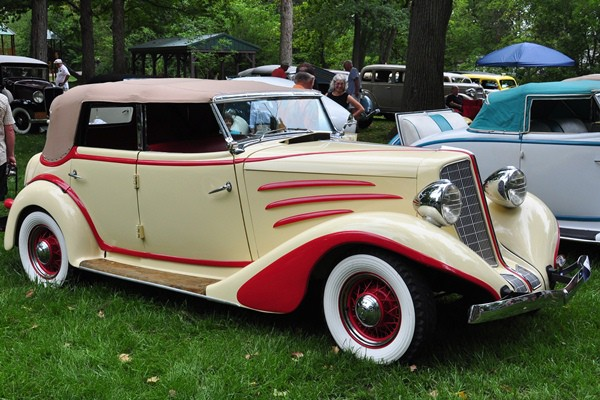 Ron McCrory 1934 Auburn 652Y Phaeton