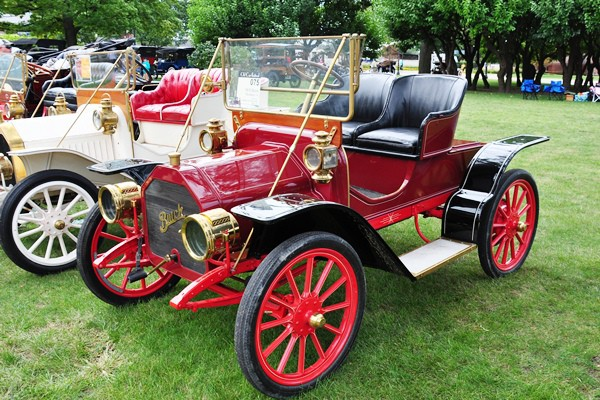 Stephen and Susie Smith 1910 Buick Model 14 Runabout