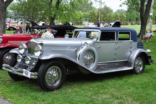 Terence Adderly 1931 Duesenberg J Murphy Beverly Berline Sedan