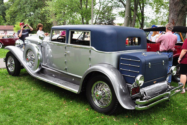 Terence Adderly 1931 Duesenberg J Murphy Beverly Berline Sedan LR