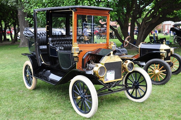 William Scott Rosenthal 1912 Ford Model T Town Car
