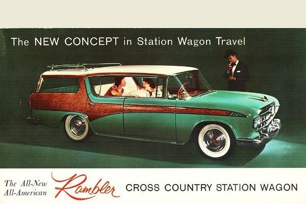 1956 Rambler Cross Country Station Wagon card