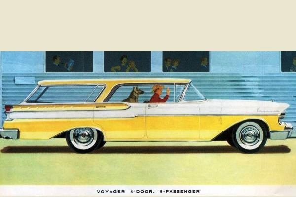 1957 Mercury Voyager four door