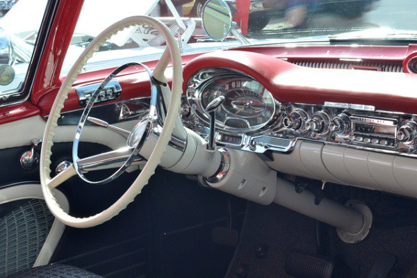 1957 Oldsmobile 88 Fiesta dash