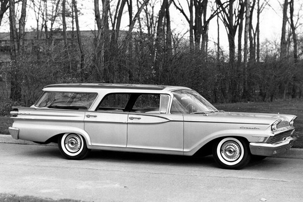 1959 Mercury Commuter Country Cruiser Station Wagon
