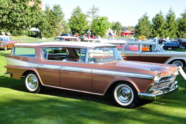 Frank and Elaine Wrenick 1958 AMC Ambassador Station Wagon