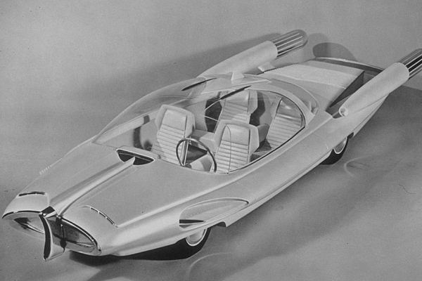 1957 Ford X-2000 Concept by Alex Tremulis