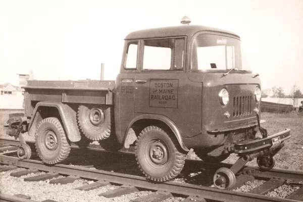 Willys Jeep FC railroad vehicle