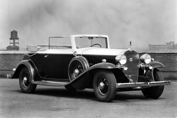1932 Cadillac V12 Convertible Coupe