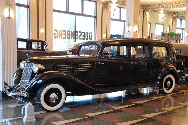 1936 Auburn 852 Hearse