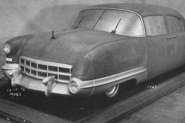 1946 Cadillac Interceptor fullsize clay proposal December 1946