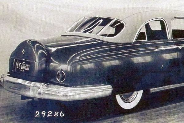 1949 Lincoln clay proposal