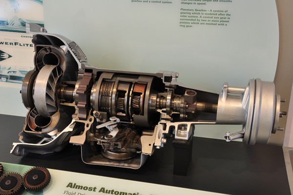 1953 Chrysler PowerFLite transmission