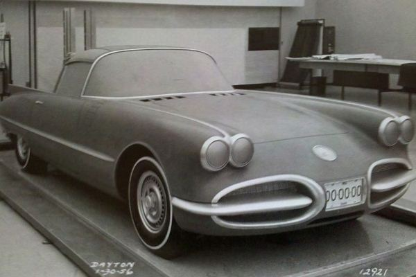 1958 Corvette clay proposal January 1956