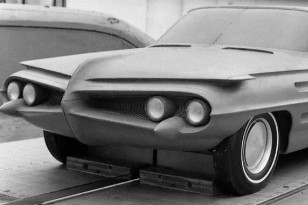 1959 Pontiac styling clay proposal