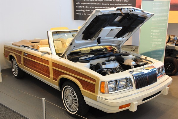 1986 Chrysler Town & Country Convertible