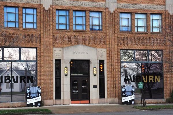 Auburn Cord Duesenberg Museum Wayne Street entrance