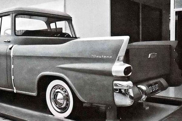 Chevrolet Daytona Pickup clay proposal