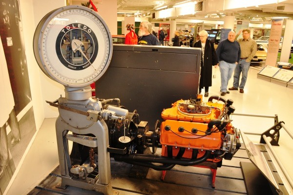 Chrysler Highland Park Engineering dyno