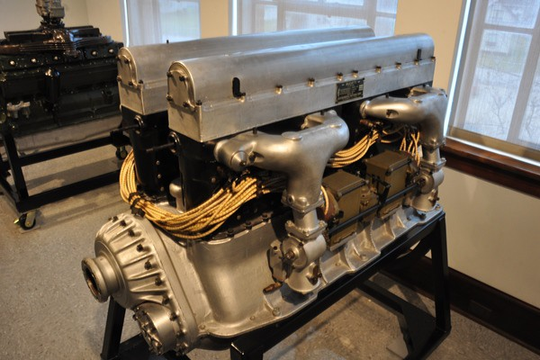 Duesenberg King Bugatti U16 aircraft engine