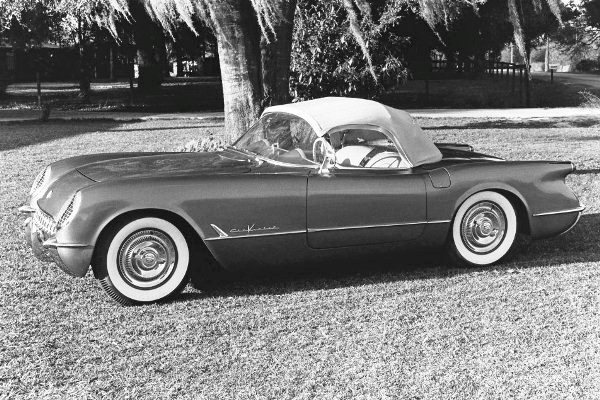 1955 Corvette top up