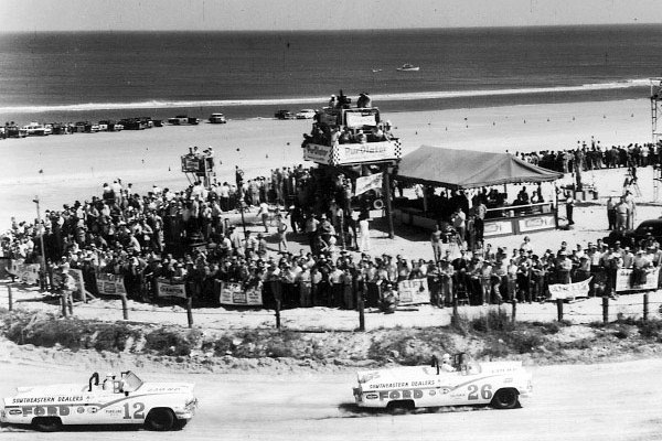 Curtis Turner 26 Joe Weatherly 12 Daytona 1956