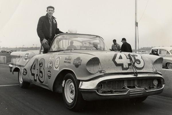 Richard Petty 43 1957 Oldsmobile Daytona 1959