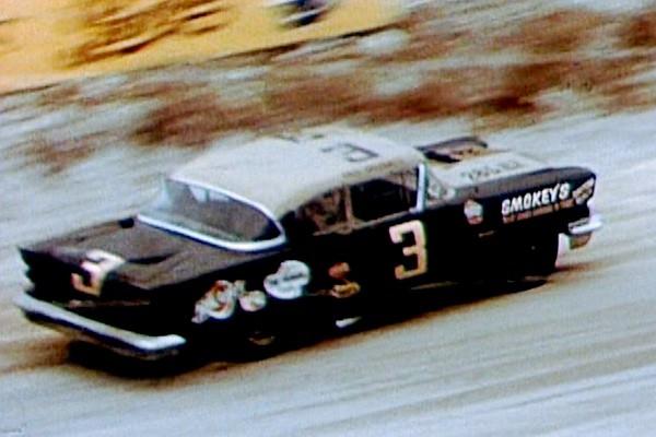 3 Paul Goldsmith 1958 Pontiac Smokey's Garage