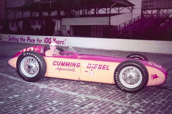 1952 Kurtis Freddie Agabashian 1952 Cummins Diesel Special