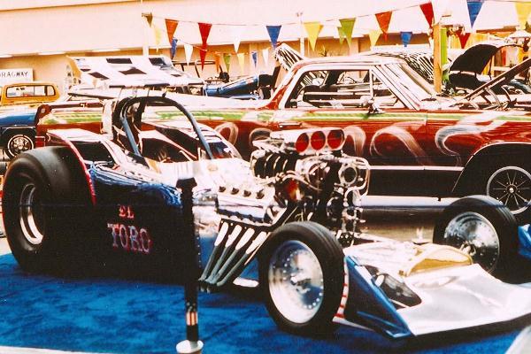 1976 Robert Sweatt 1923 Ford Fuel Altered El Toro