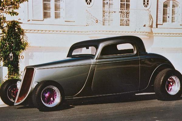 1991 Tony Carlini 1933 Ford Coupe