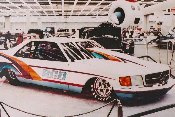 1995 Bob Rizzoli 1992 Mercedes 560 SEC