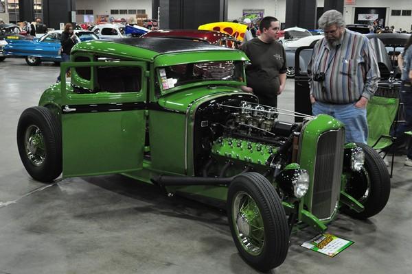 Chad Folkema 1930 Ford Model A Lincoln V12