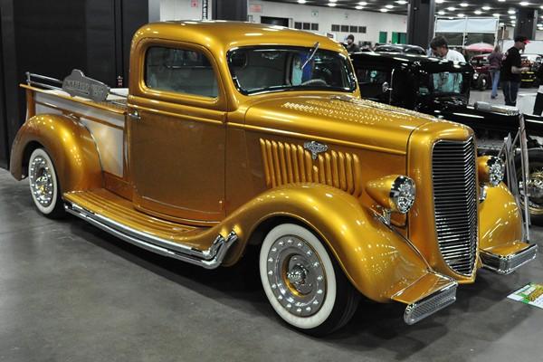 Gary Hatfield 1935 Ford Pickup